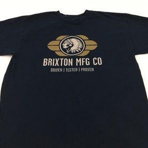 Brixton Tee Skate Graphic T Shirt Size Medium
